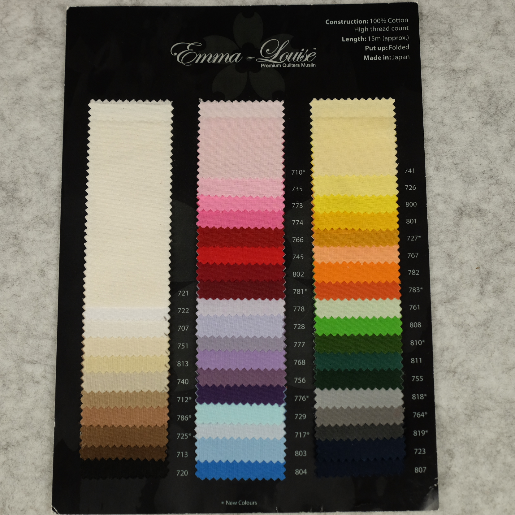 Emma Louise Quilters Muslin