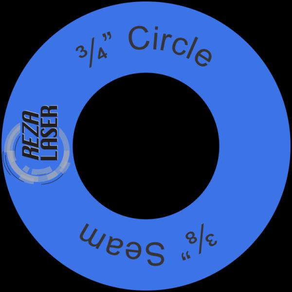 "Circle - ¾"" Inch - Acrylic Template - I SPY with ⅜"" Seam Allowance"