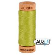Aurifil - 80wt - Hand Applique Thread - 280 mts - Colour 1147 Light Leaf Green