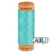 Aurifil - 80wt - Hand Applique Thread - 280 mts - Colour 1148 Light Jade
