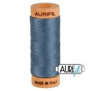 Aurifil - 80wt - Hand Applique Thread - 280 mts - Colour 1158 Medium Grey