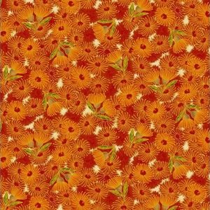 Under the Australian Sun - Leesa Chandler - Flowering Gum Orange Multi - 12 8