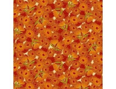 Under the Australian Sun - Leesa Chandler - Flowering Gum Orange Multi - 12 8