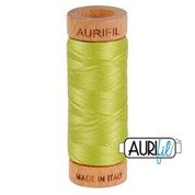 Aurifil - 80wt - Hand Applique Thread - 280 mts - Colour 1231 Spring Green
