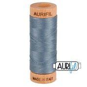 Aurifil - 80wt - Hand Applique Thread - 280 mts - Colour 1246 Dark Grey