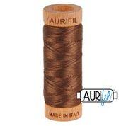Aurifil - 80wt - Hand Applique Thread - 280 mts - Colour 1285 Medium Bark