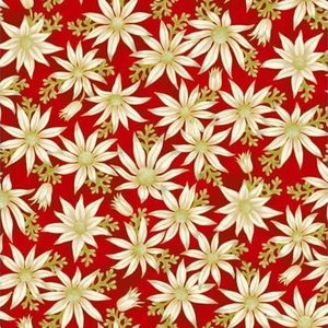 Under the Australian Sun - Leesa Chandler - Flannel Flowers Red - 15 1