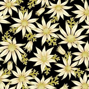 Under the Australian Sun - Leesa Chandler - Flannel Flowers Black - 15 16