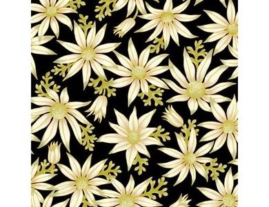 Under the Australian Sun - Leesa Chandler - Flannel Flowers Black - 15 16