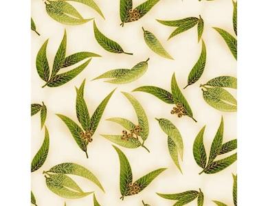 Under the Australian Sun - Leesa Chandler - Gum Leaves Green/Ivory - 16 13
