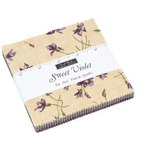 Sweet Violet - Charm Squares