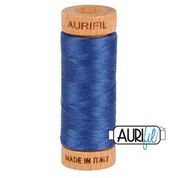 Aurifil - 80wt - Hand Applique Thread - 280 mts - Colour 2775 Steel Blue