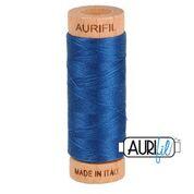 Aurifil - 80wt - Hand Applique Thread - 280 mts - Colour 2783 Medium Delft Blue