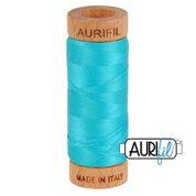 Aurifil - 80wt - Hand Applique Thread - 280 mts - Colour 2810 Turquoise
