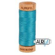 Aurifil - 80wt - Hand Applique Thread - 280 mts - Colour 4182 Dark Turquoise