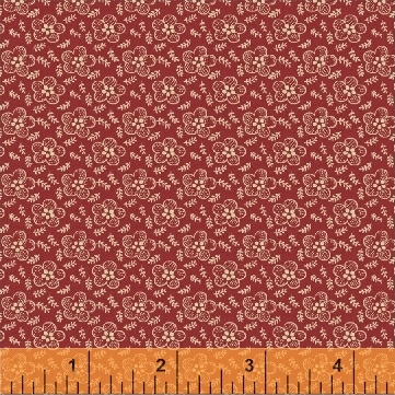 Simply Red by Mary Koval - 42895 1 - Red/Cream