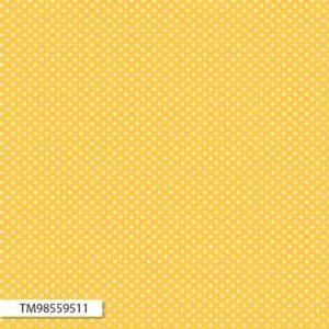 Back Porch Prints by Kaye England - 98559 511 Yellow with White Spot