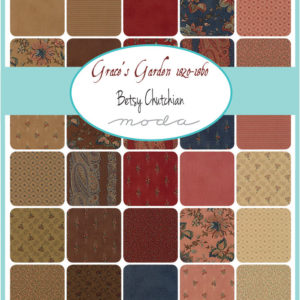 Grace's Garden by Betsy Chutchian - Fat Eighth Pack