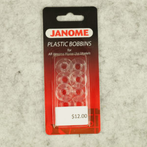 Janome - Plastic Bobbins - Pkt 10