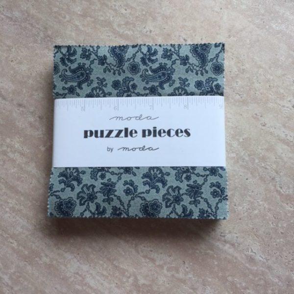 Puzzle Pieces - Charm Squares - Extra Large - 60 Pieces
