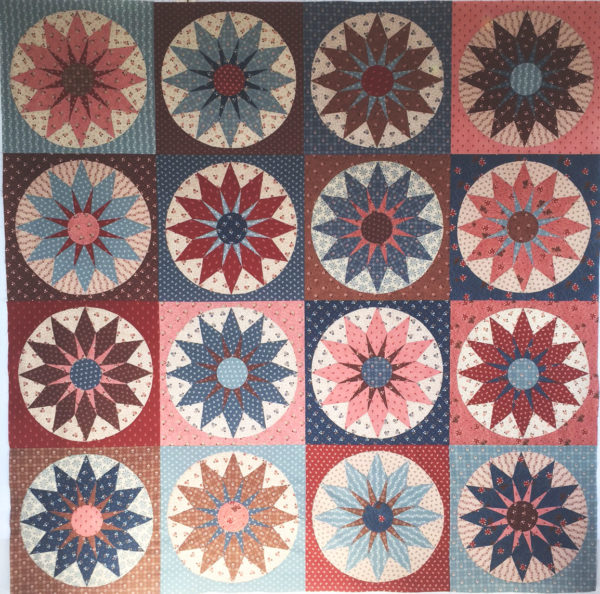 Josephine Quilt Kit - Includes Pattern, Templates and Fabrics for the Top!