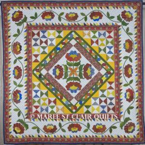 Provencal Quilt Kit - Provencal Fabric Range from American Jane