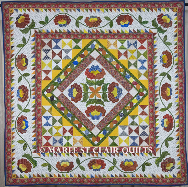 Provencal Quilt Kit - Provencal Fabric Range from American Jane