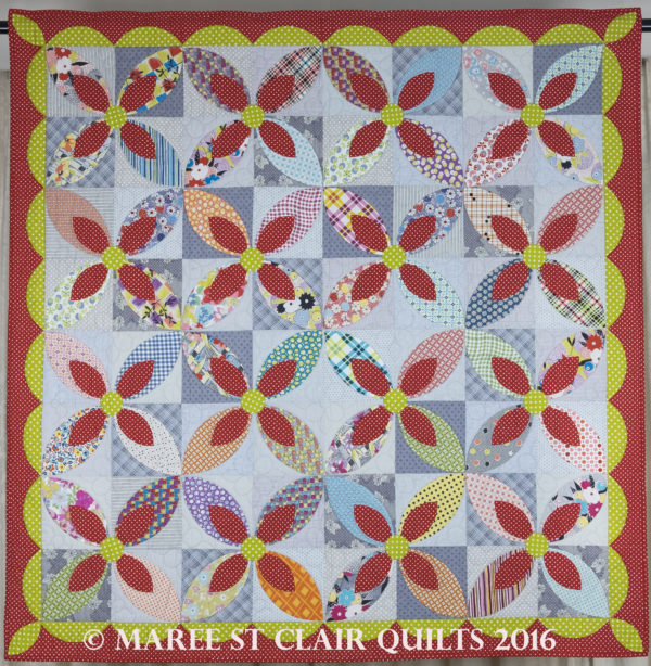 Petal Play Quilt Mylar Template Set - for Quilters Companion 89