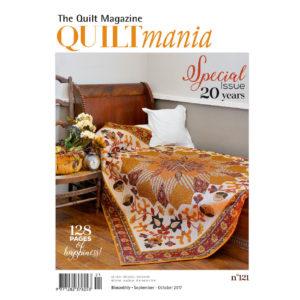 Quiltmania Magazine - Issue 121 - September/October 2017