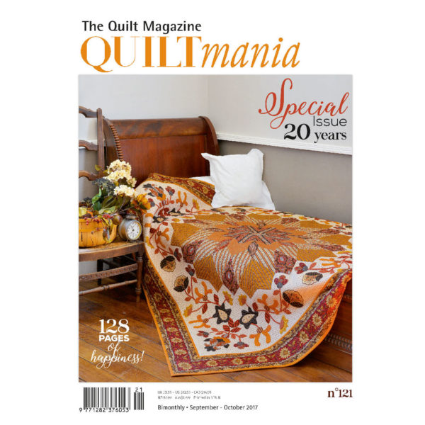 Quiltmania Magazine - Issue 121 - September/October 2017