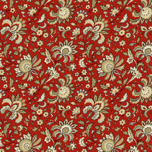 Red, Crimson and Rust Fabrics